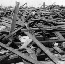 After the deadliest Texas hurricane, one brave woman disguised herself to report the terrible news