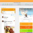 How we designed Foursquare Swarm 5.0
