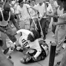 She was there to protest the KKK. She ended up saving a white supremacist's life