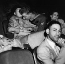 Infrared photos of 1940s movie audiences are a candid study of American voyeurism