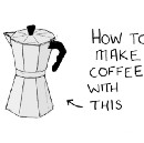 How to make coffee in one of those pots.