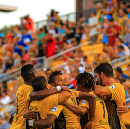 Charleston and Louisville play to a 1–1 draw atop the Eastern Conference