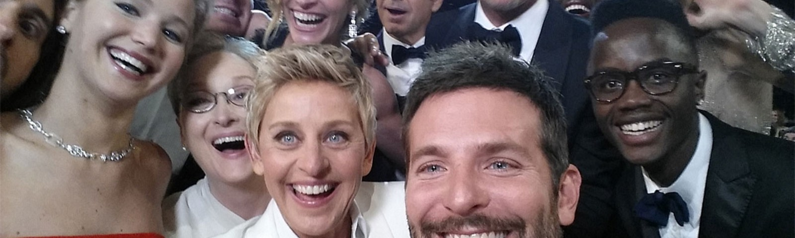 There's a whole lot of quality acting chops in this Ellen DeGeneres selfie from the Oscars!