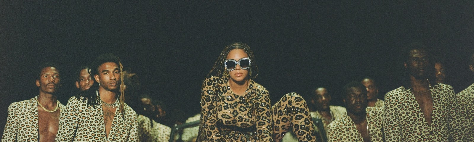 "A promotional photo featuring Beyonce from ""Black Is King."""