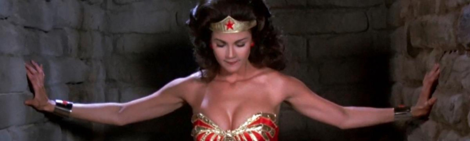 Linda Carter as Wonder Woman.