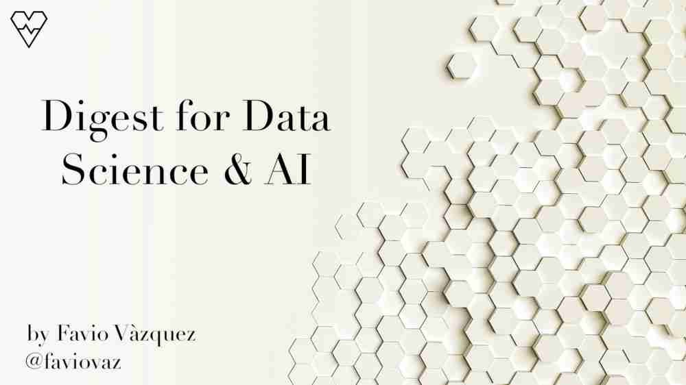 Weekly Digest for Data Science and AI: Python and R (Volume