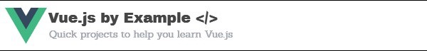 Vue by Example