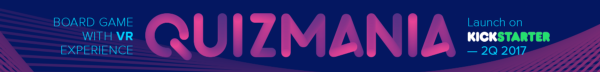 Quizmania-first board game with VR experience!