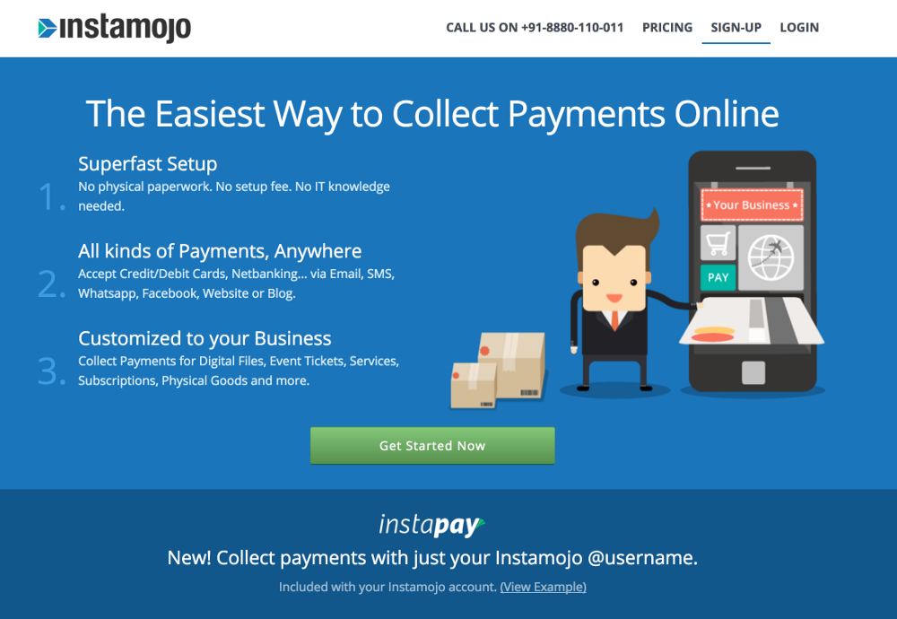 how to collect payment online