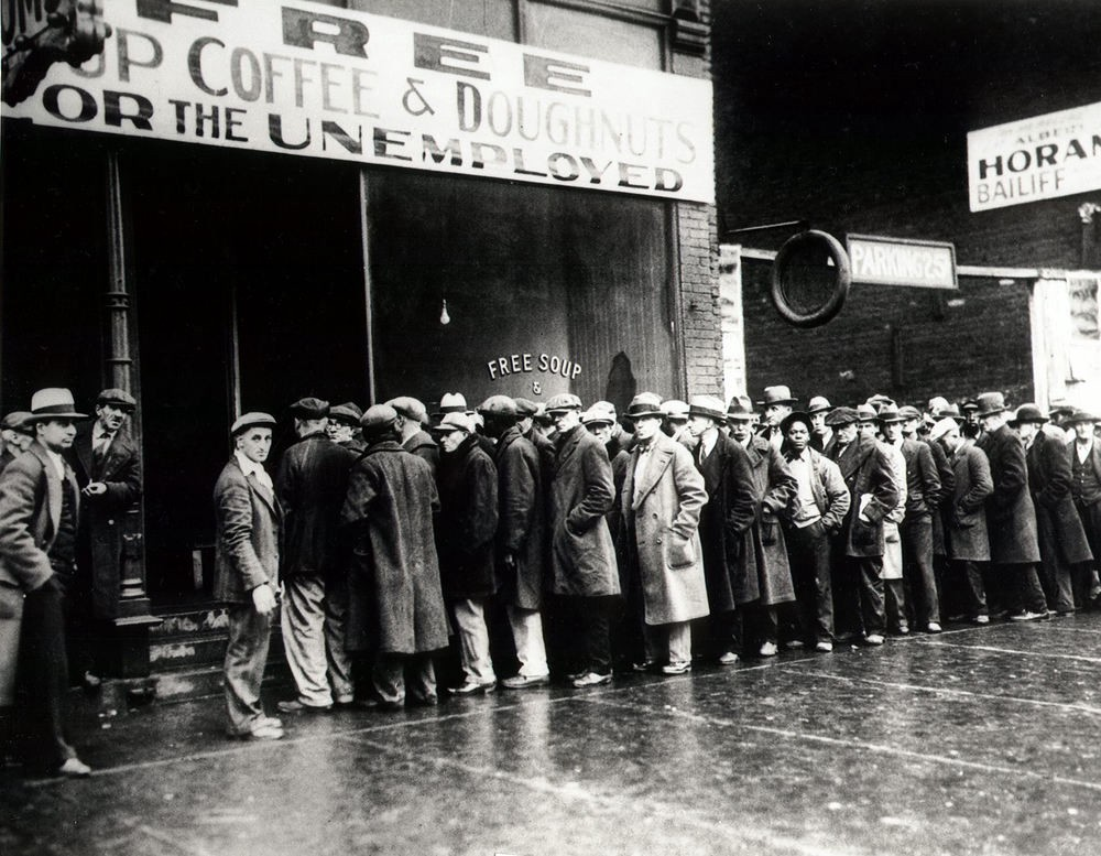 Unemployment is associated with a colossal increase in support for redistribution