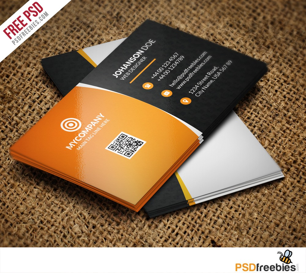 Corporate business card bundle free psd psdfreebies download corporate business card bundle free psd business card bundle free psd is perfect for any personal or corporate use you can edit easily reheart Images