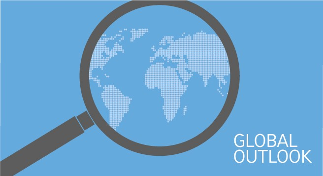Global outlook, take an active role in pension de-risking, and US & India versus the world