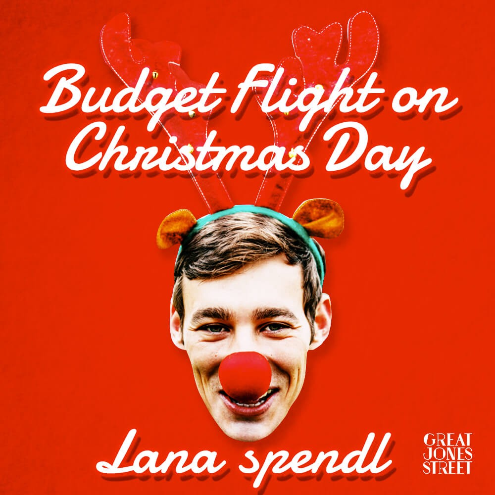 budget flight on christmas day by lana spendl great jones street medium - What Does Christmas Really Mean