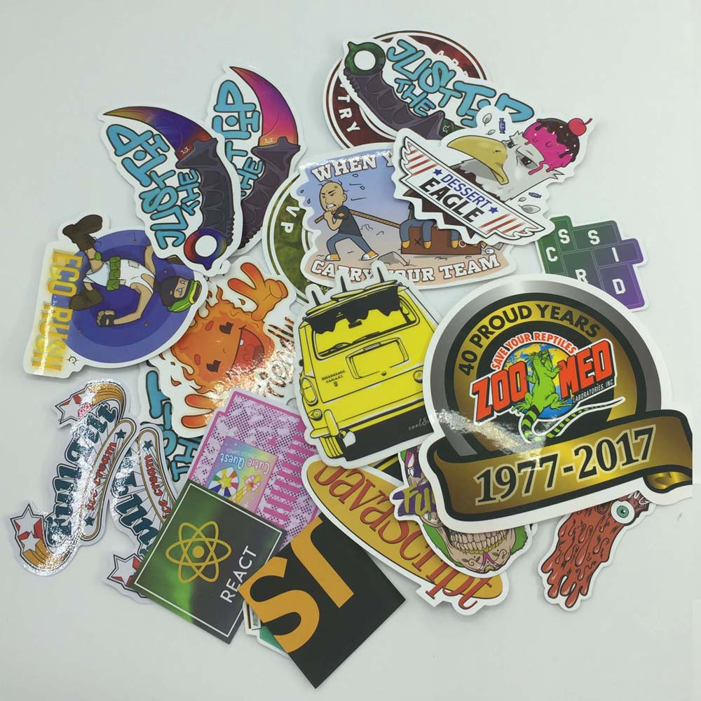 Custom stickers best price and quality printing from china zigpac com