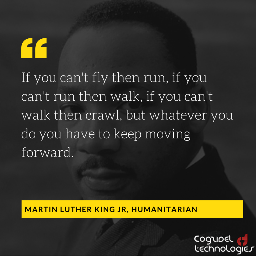 Martin Luther King Jr On Progress Startup Quote Cogzidel Medium