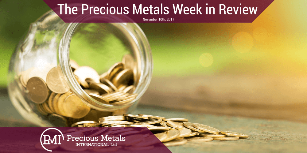 The Cryptocurrency News Group The Precious Metals Week in Review — November 10, 2017