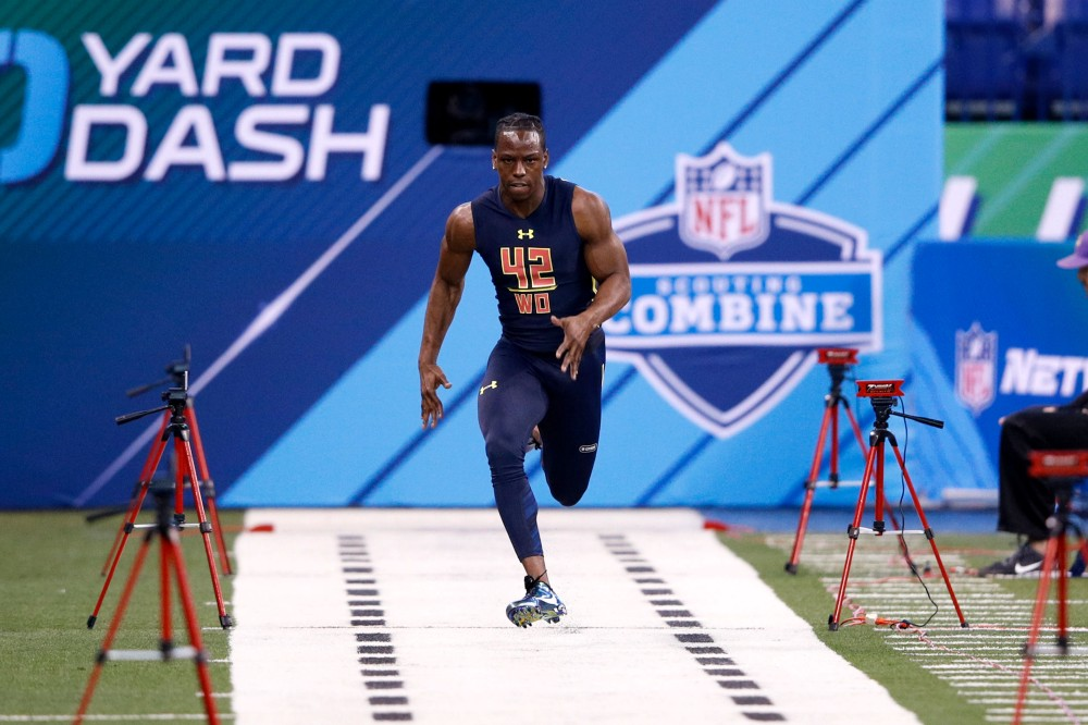 Adidas says no island for John Ross, who beat combine record