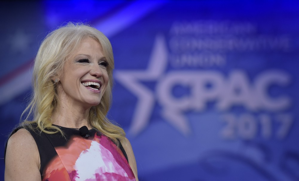 White House Pushes Back On Report That Conway Is 'Sidelined' From TV