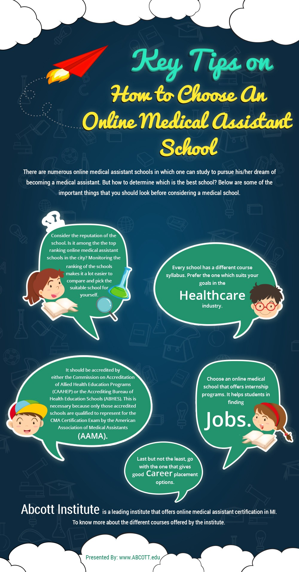 Key Tips On How To Choose An Online Medical Assistant School