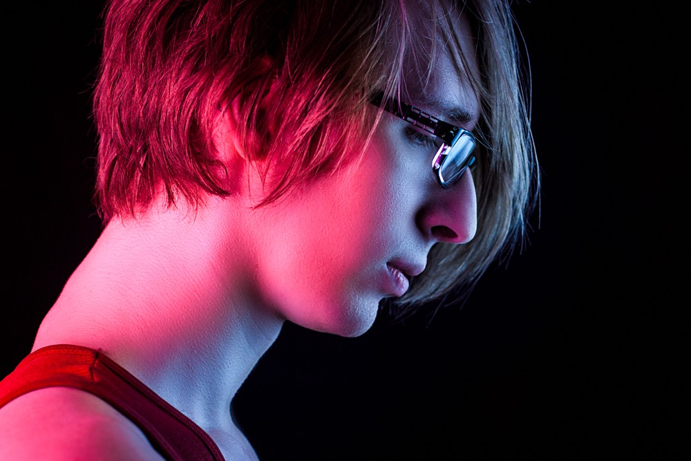 cellophane as an alternative to gels for constant lighting