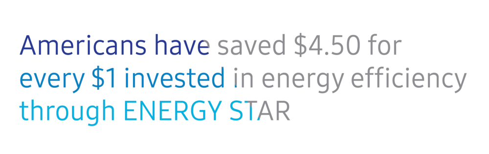Keep ENERGY STAR funded. Consumers deserve no less.