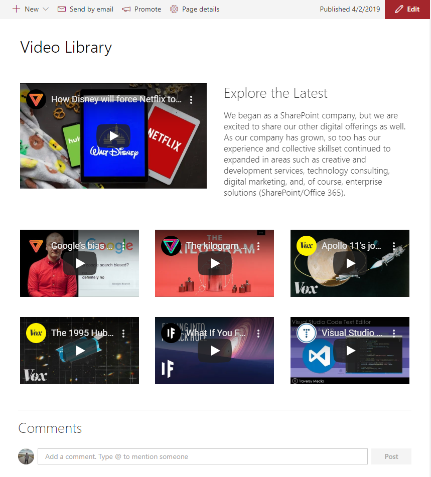 """""""Photo/Video"""" Library"""