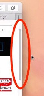 Scroll bar should reflect real pagelength