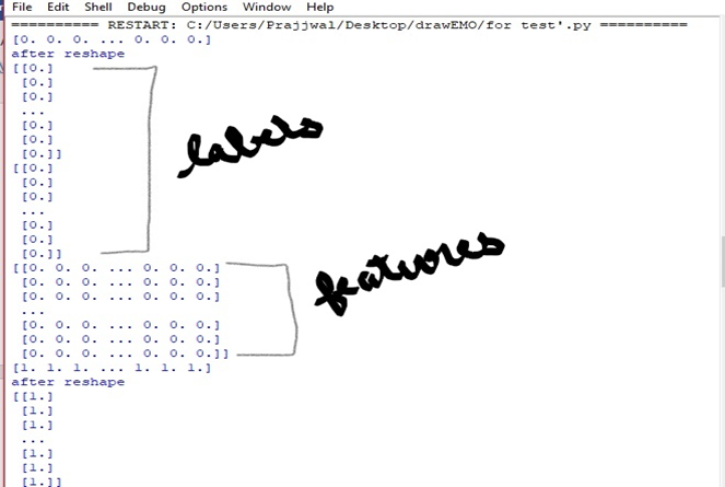 Make a Doodle Classifier by Drawing Virtually in Front of