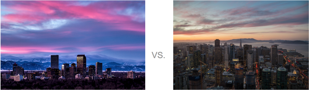 Denver vs. San Francisco