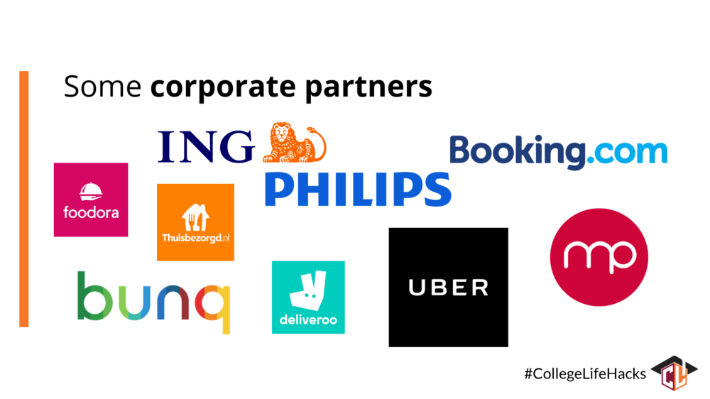College Life corporate Partners
