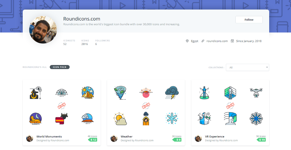 Roundicons on Iconscout