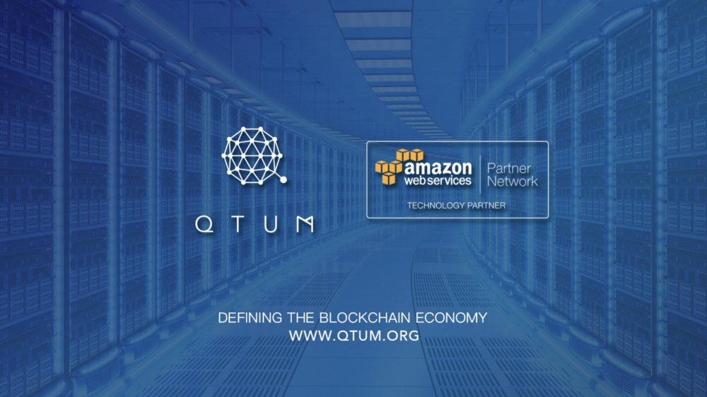 "Qtum (QTUM) Enters ""Historic Partnership"" With Amazon Web Services, Surges 5% 14"