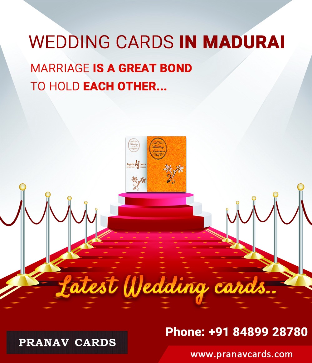 Order Your Amazing Wedding Invitation Cards Online @ www.pranavcards.com