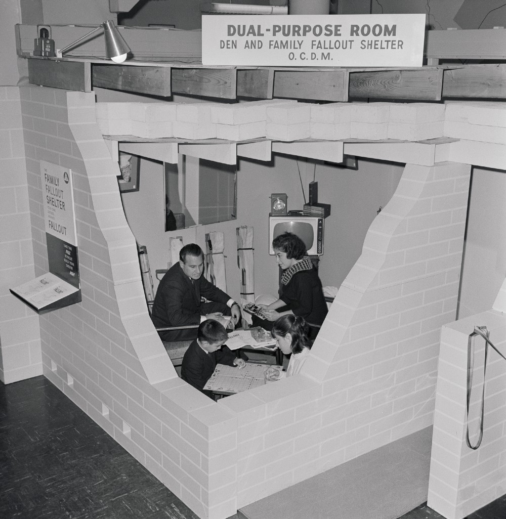 These Pictures Show How Cozy Fallout Shelters Were Perfect