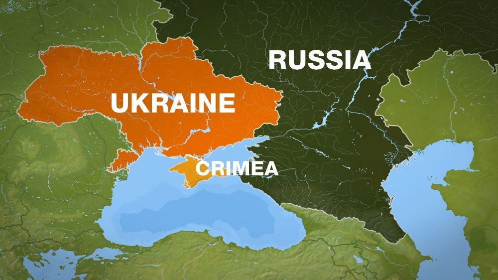 Ukraine The Key For USRussia Relations The Pensive Post - Us russia map