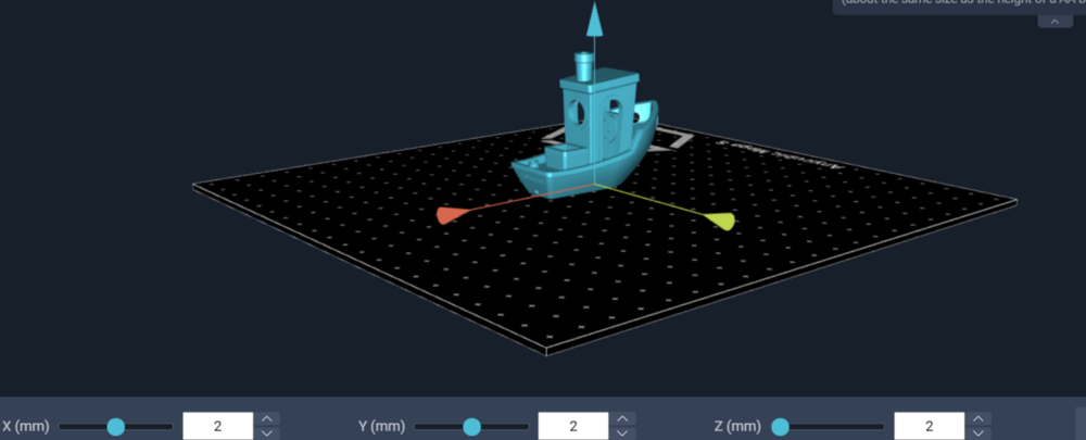 Setting the orientation in the Slicer Software