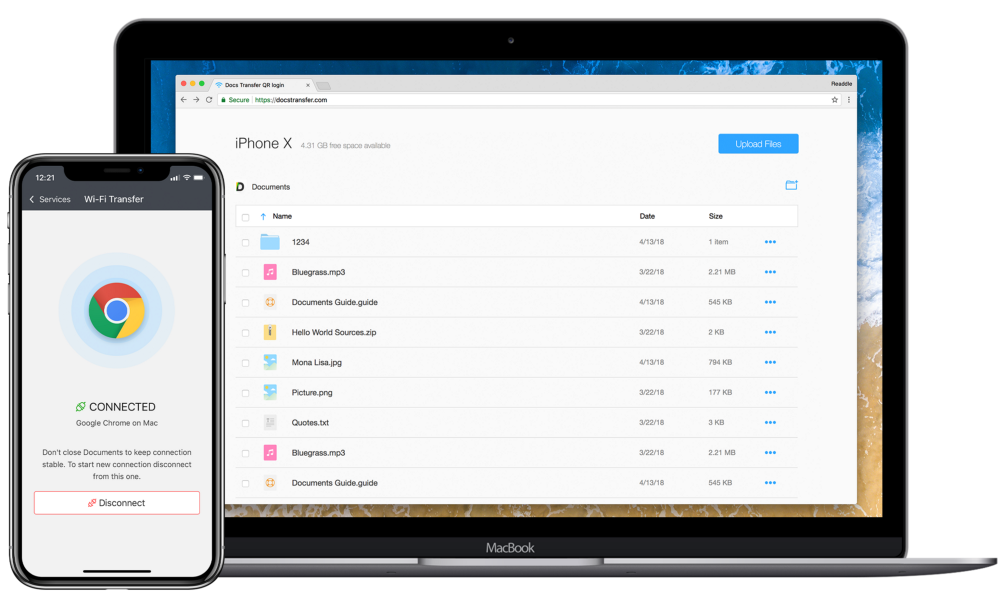 Documents app adds WiFi Transfer, a faster way to transfer