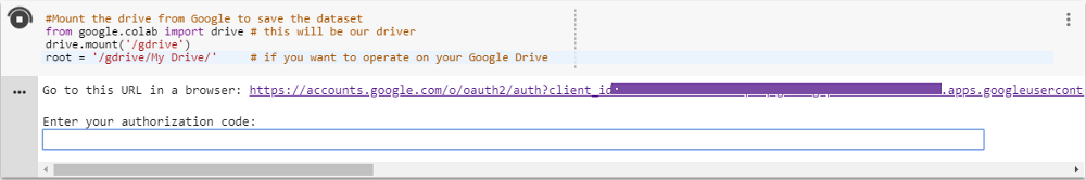 How to create a dataset in Google Colab for your Machine