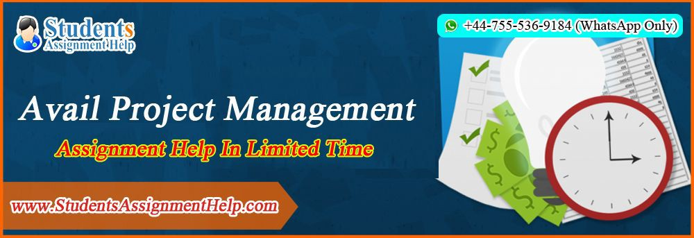 avail project management assignment help in limited time for all those students project management assignment help of studentsassignmenthelp com is a blessing get the perfect solutions offered by our cheap