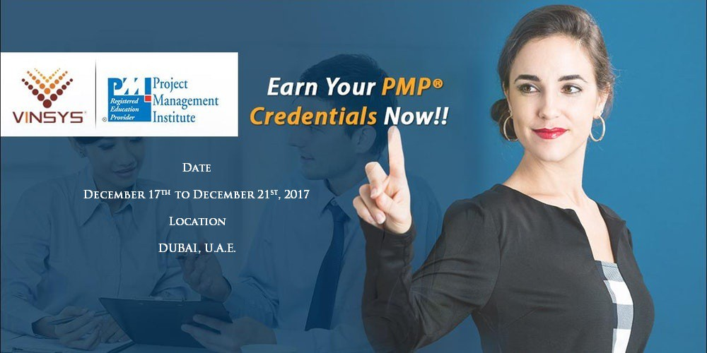 Pmp Certification Training In Dubai At Vinsys Vinsys