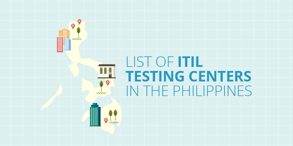 Itil Testing Centers In The Philippines Infographic
