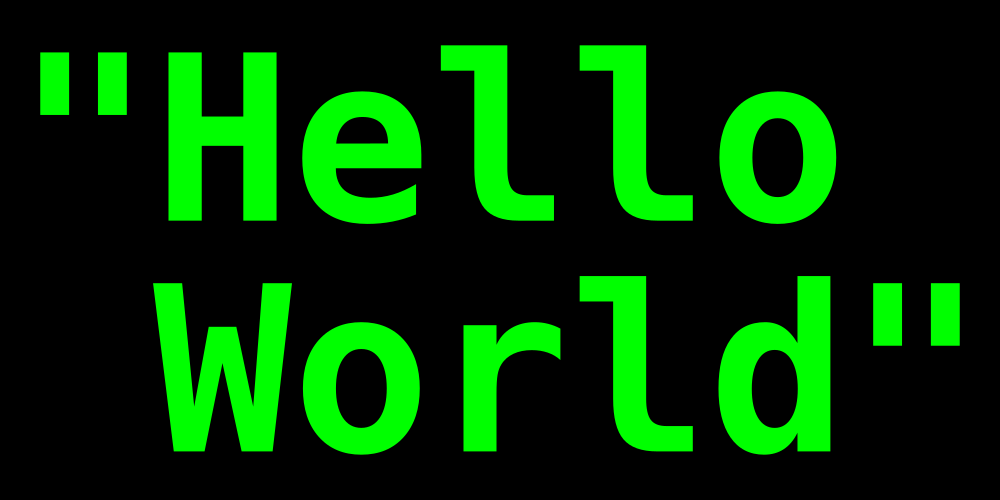 Hello World for chatbots
