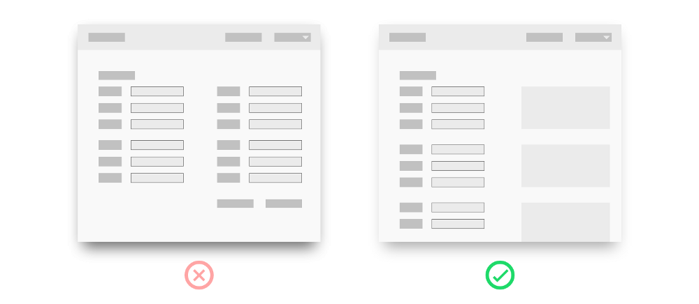 UX Best Practices - Submission Fields - Graphic