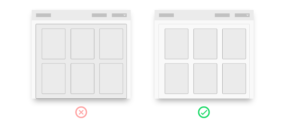 UX Best Practices - Cards - Graphic