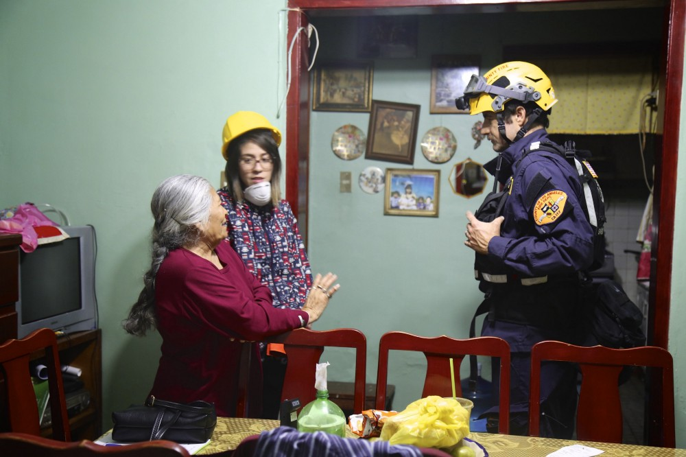 These efforts helped determine if people could safely return to their homes, and helped inform the Mexican government's decisions on whether or not to re-open offices, schools, and clinics.