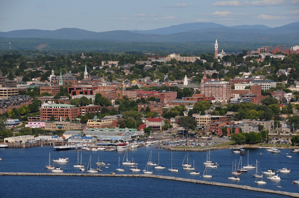 Lake Champlain And Mountain Views Frame Burlington Vermont S Largest City Is A Hot Spot For All Types Of Athletes Because Its Outdoorsy