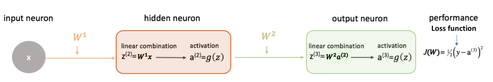Weights neural networks forward propagation