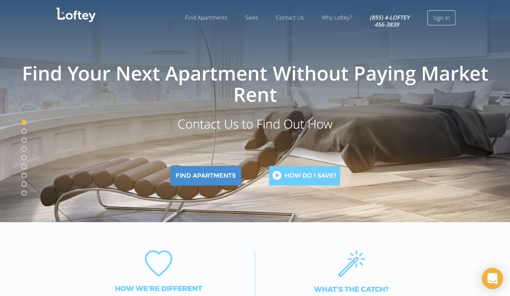 Loftey: An Innovative Way To Save Money Finding Your Next Apartment