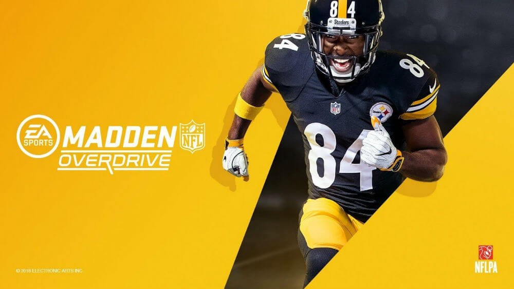 madden overdrive antonio brown jerseys