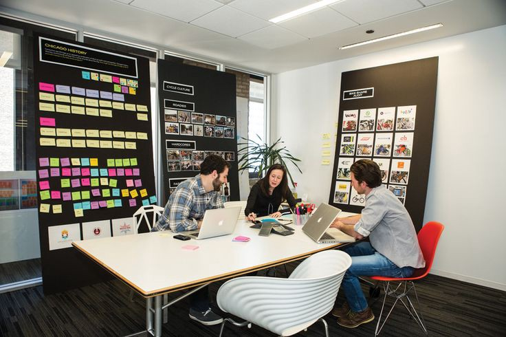 Improve creativity at work by sharing it easily is an open office benefit